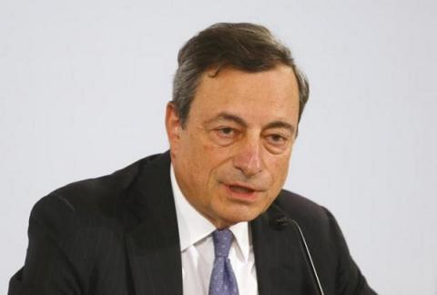 ECB's president: euro zone economic health at risk