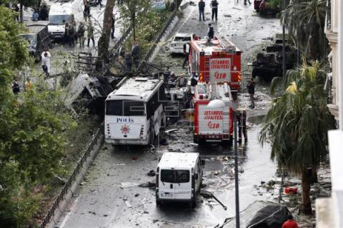 Kurdistan Freedom Falcons takes credit for Istanbul bombing that killed 11