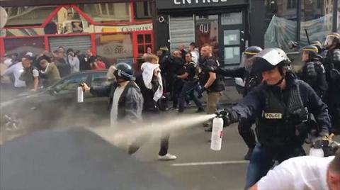 Euro 2016: Dozens arrested in Lille after England, Russia supporters clash (VIDEO)