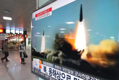 Japan condemns 'provocation' as North Korea tests two medium-range missiles