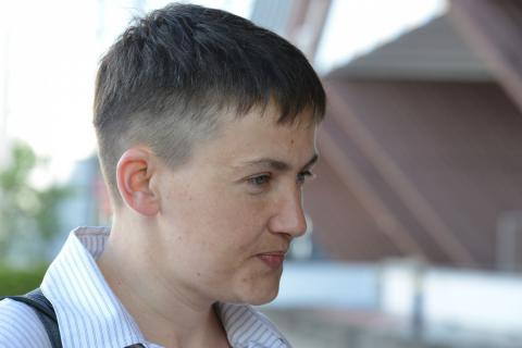 Savchenko: Russian people shouldn't suffer from sanctions