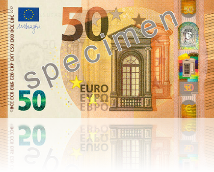 New 50 euro note is coming