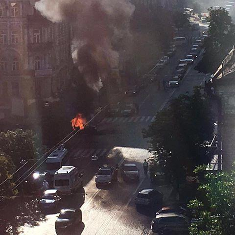 Journalist Pavel Sheremet killed in car explosion in downtown Kyiv (PHOTO)