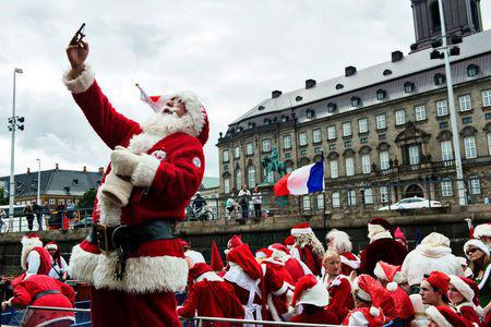 Santas from around the world gathers for annual congress in Copenhagen