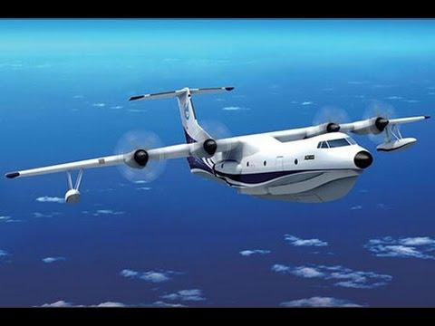 World's largest amphibious aircraft completed in China (VIDEO)