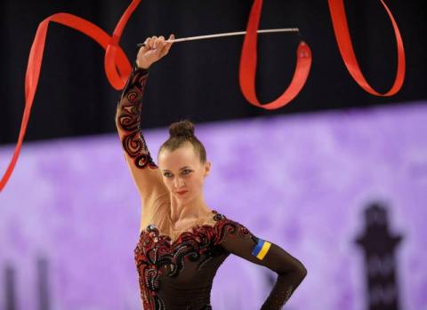 Ukrainian gymnast claimes World Cup stage in Berlin (VIDEO)