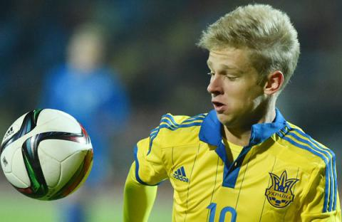Manchester City FC signed contract with Ukrainian midfielder