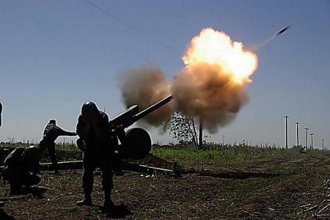 Russian proxies attacked Ukrainian position 61 times over last day, used mortars