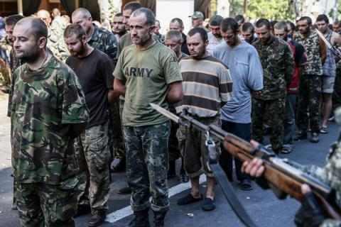 Donbas militants hold in captivity 111 Ukrainian citizens