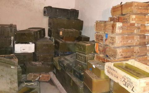 Ukraine's Security Service finds record-large illegal cache of firearms, ammunition (PHOTO)