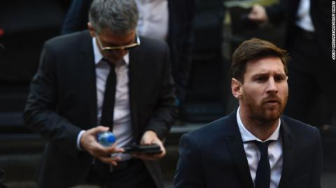 Messi sentenced to 21 months in prison for tax fraud