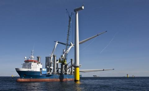 Netherlands' Dong Energy set record low price for offshore wind power