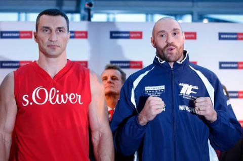 Part II: Fury vs Klitschko on October, 29
