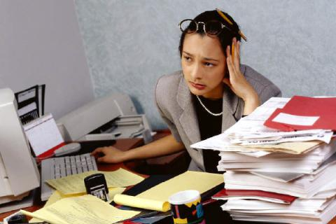 Have problems at work? You can blame your parents