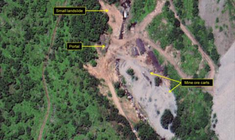"""High level activity"" was indicated in North Korea's nuclear site"