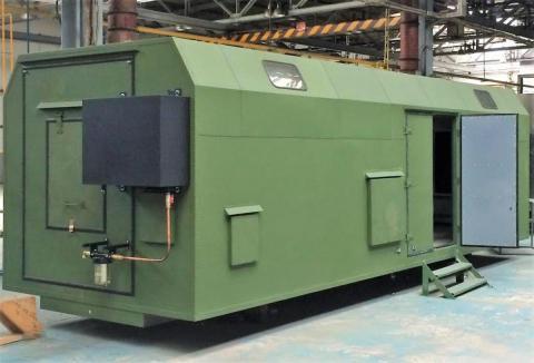 Bogdan Corp. starts making KUNG military vehicles in Cherkasy