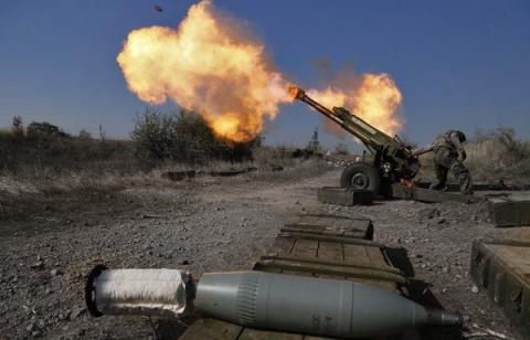 ATO HQ reports 72 attacks in eastern Ukraine, most near Mariupol