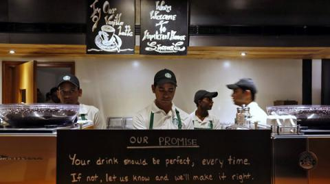 Starbucks serves dollops of humour at its cafes in India