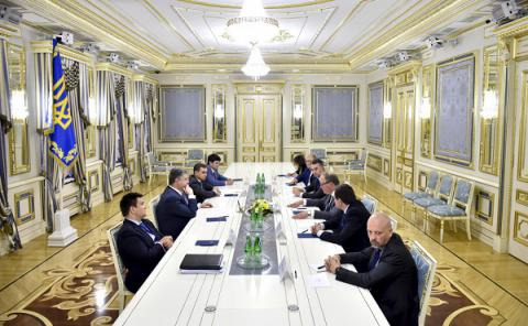 Ukraine's President calls on Euro-MPs to promote Association Agreement ratification