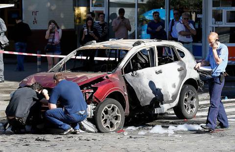 Ukrainian reporter Sheremet's death was not immediate - Eyewitness (PHOTO)