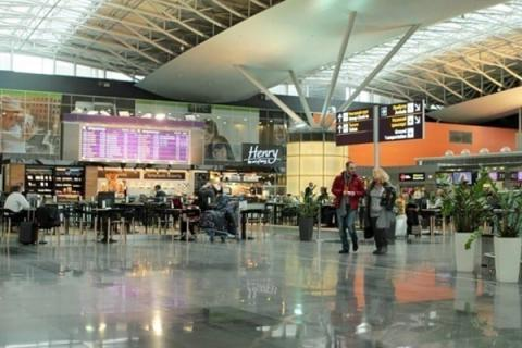 Kyiv's Boryspil airport expects triple net profit rise in Jan-June 2016