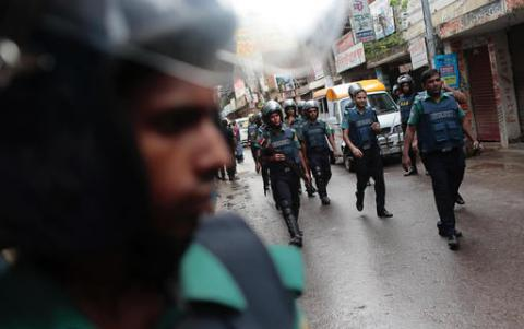 Bangladesh police killed 9 ISIS militants