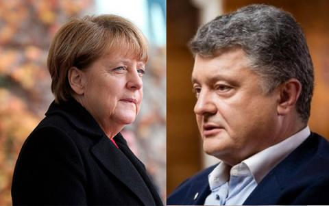 Ukrainian President, German Chancellor discussed Minsk implementation issues