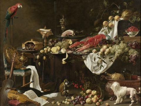 Foods on famous paintings were not most available, but most indulgent (PHOTO)