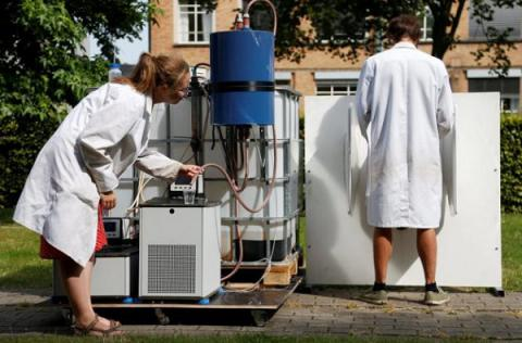Belgian scientists created machine that turns urine into drinkable water