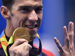 Michael Phelps won his 22th Olympic gold medal of his career
