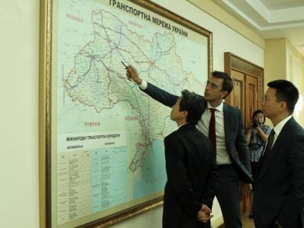 "Ukraine and China have discussed ""Silk Road"""