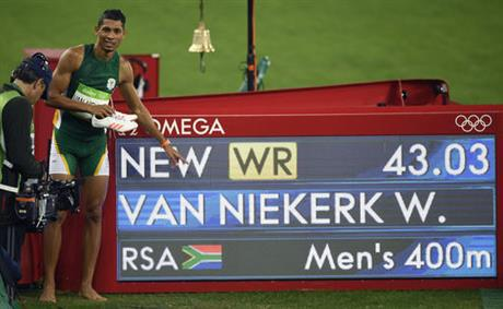 South African sprinter broke 17-year-old world record in Rio