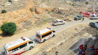 Evacuation begins in Syria's Darayya