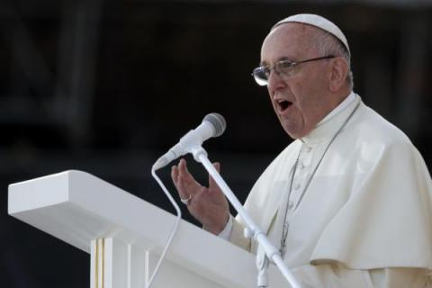 Prime causes of terrorism are social injustice and idolatry of money - Pope