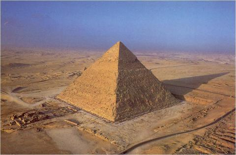From where we have so many pyramids?