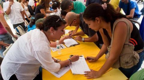 Venezuela opposition proceeded their way to referendum