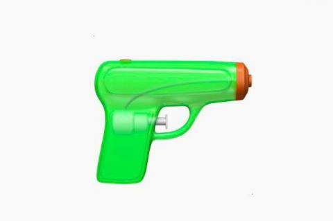Apple to replace gun emoji with water pistol