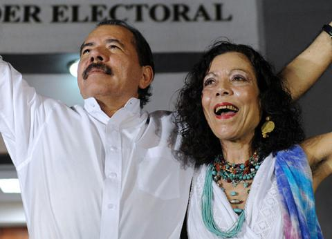 Family business: Nicaraguan president named his wife as running mate for re-election
