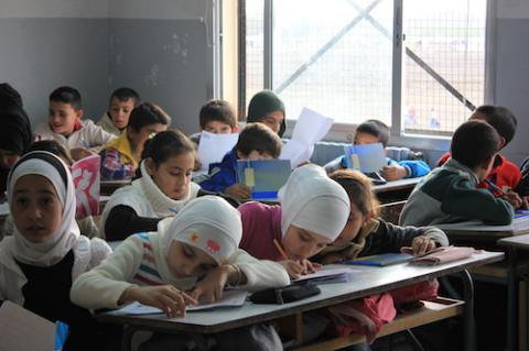 Syrian childhood reality: to go to school or to eat