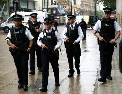 Extra armed officers will secure London from possible attacks