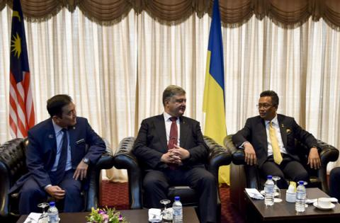 "Ukrainian president: ""Today is a good time for Malaysian investors to come to Ukraine"""