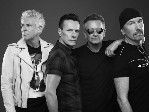 U2 is preparing the release Songs of Experience