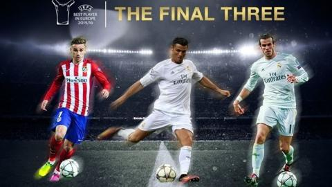 Best European football player: Griezmann, Bale or Ronaldo?