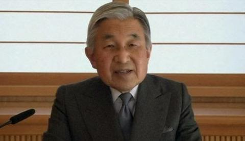Japanese Emperor addressed his nation in video-message