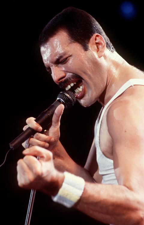 How the voice of Freddie Mercury sounds without music (Video)
