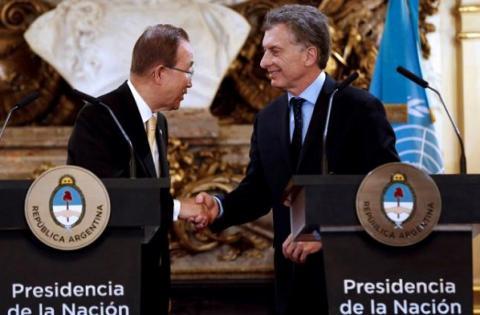 U.N. Secretary-General calls on nations to ratify Paris climate accord