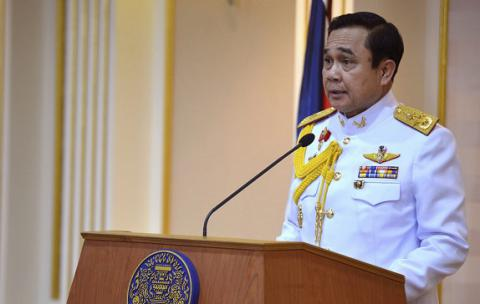 Thailand's junta leader to hold elections in November, 2017, under new constitution