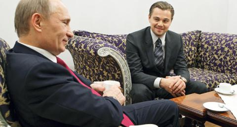 DiCaprio and Putin plan to do voice acting documentary film