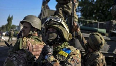 Ukraine deploys military forces on border with Russia-annexed Crimea