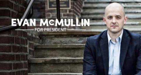 Anti-Trump republican Evan McMullin announces independent run for president
